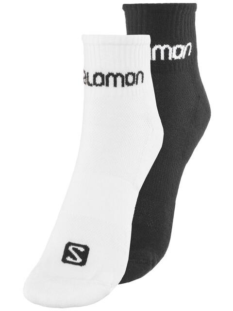 Salomon Evasion Sokken 2-Pack wit/zwart